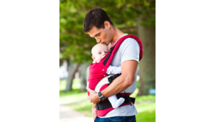 Give babywearing a try for free at The Baby & Toddler Show, Sandown Park
